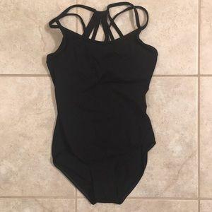 Natalie Dancewear Other - NEW Strappy Black Leotard